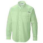 Light green long sleeve mens shirt