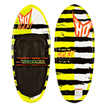 Black and yellow knee board