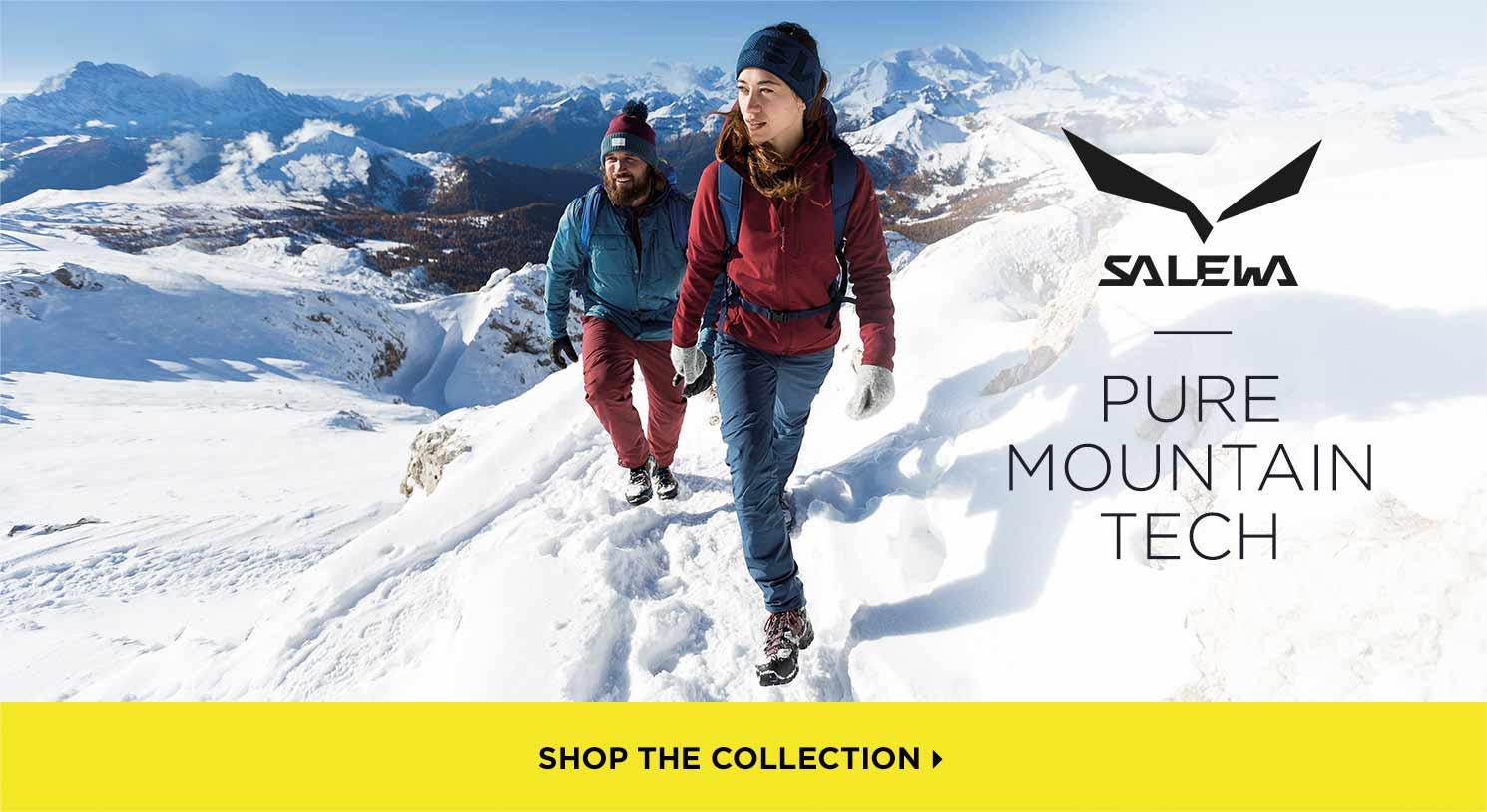 Salewa: Pure Mountain Tech