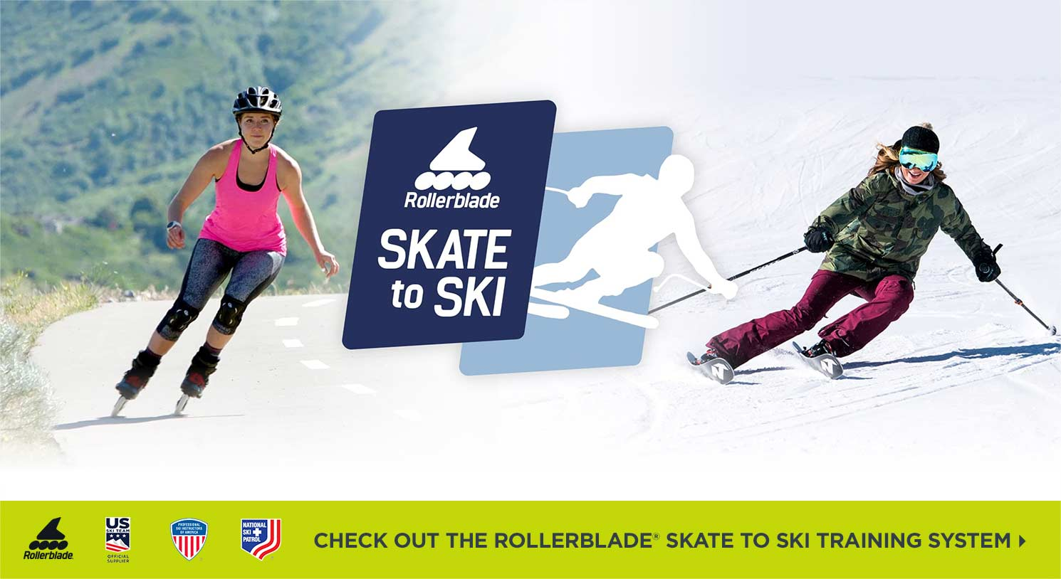 Introducing the Rollerblade Skate to Ski Training System