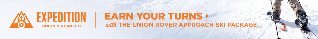 Union Rover Approach Ski Package: Earn Your Turns