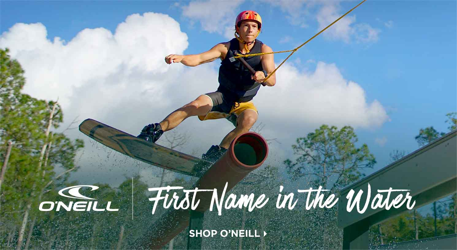 O'Neill: First Name in the Water