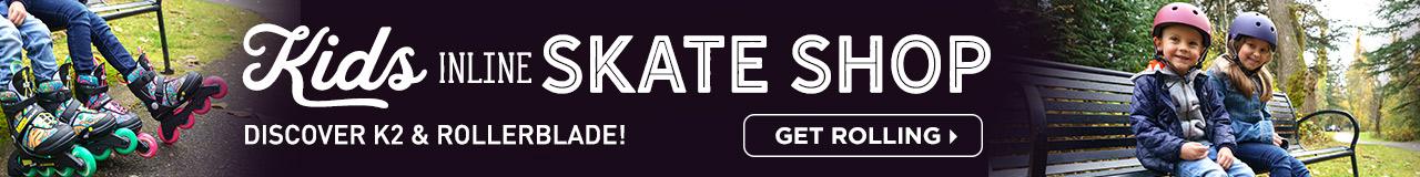 Kids Inline Skate Shop - Discover K2 & Rollerblade