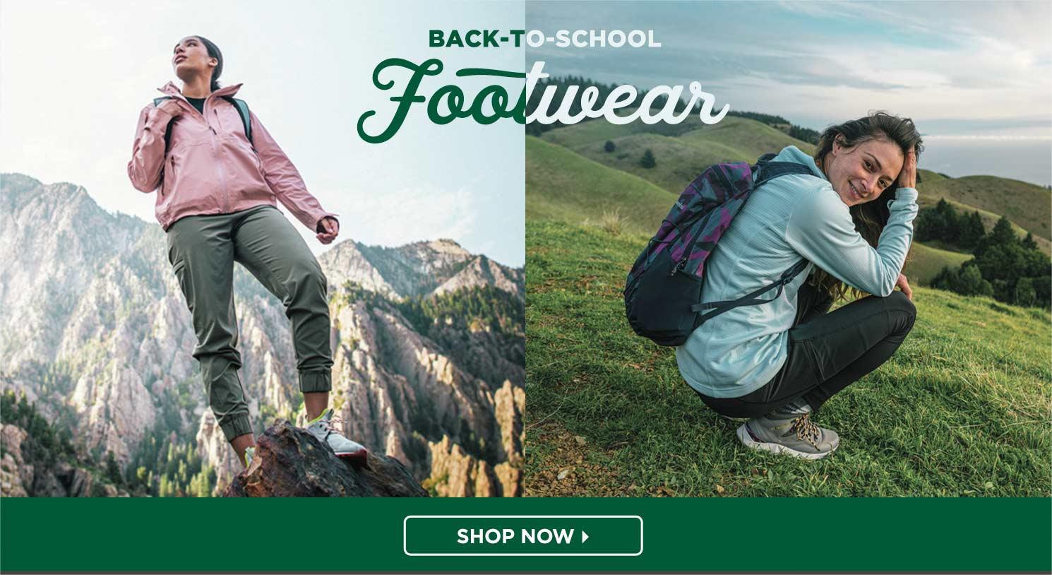 Shop Back to School Footwear
