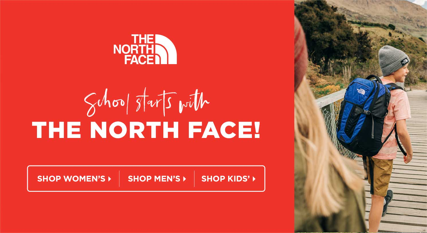 School Starts with The North Face!
