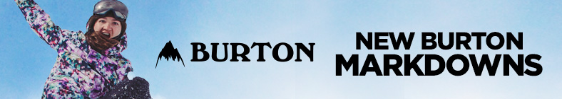 Save Now with New Markdowns on Burton!