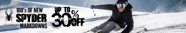 Save Now with New Markdowns on Spyder!