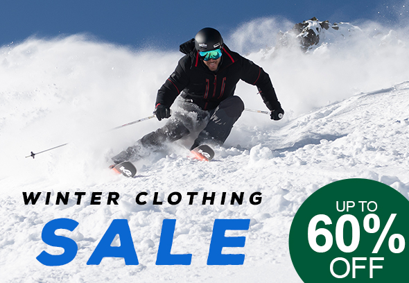 Winter Clothing Sale - Up to 60% off