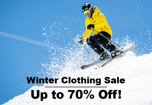 Winter Clothing Sale - Up to 70% off